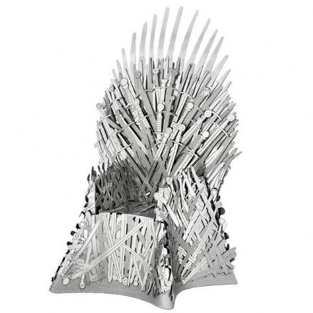 Metal Earth IconX Game of Thrones Iron Throne Model Kit